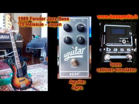 Rock Bass Sound - 10 overdrive pedals comparison - Fender Jazz Bass