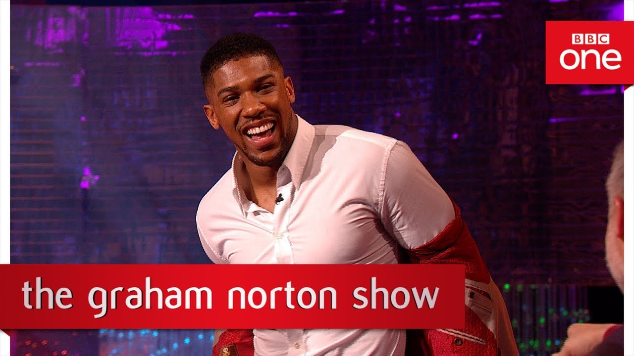 Anthony joshua gives a boxing lesson the graham norton for The norton