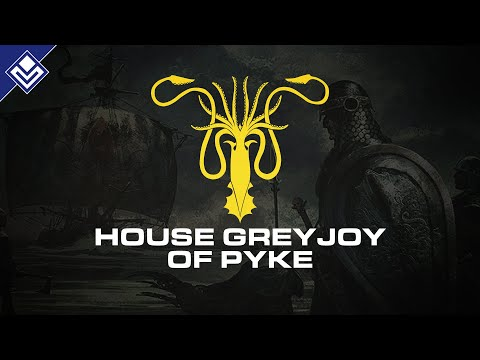 House Greyjoy Of Pyke | A Song Of Ice & Fire
