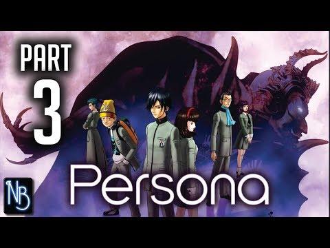 Shin Megami Tensei: Persona Walkthrough Part 3 No Commentary (PSP)