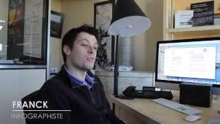 Repeat youtube video Franck, Infographiste en entreprise privée