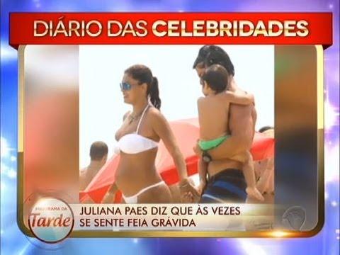 Juliana Paes Diz Que às Vezes Se Sente Feia Grávida