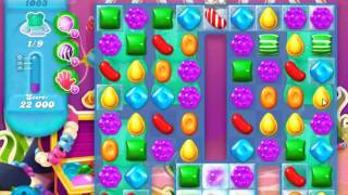 Candy Crush Soda Saga Level 1063 - NO BOOSTERS