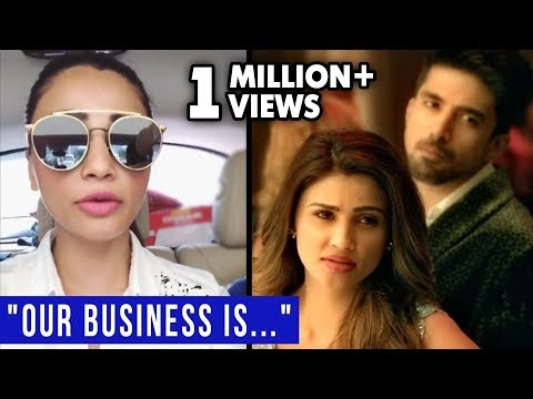 Daisy Shah SHOCKING Response To Trolls & Memes On 'Our business' dialogue from RACE 3 thumbnail