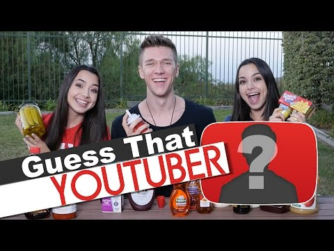 Guess That YouTuber Challenge - Merrell Twins Ft. Collins Key guess the youtuber