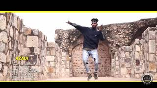 AZAADI//gally boy//MD Azad dance  choreography//to be continued