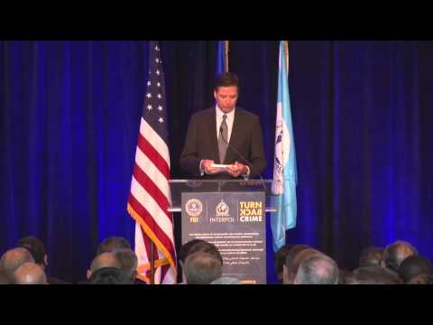 FBI Director James B. Comey #FBI and #INTERPOL #TURNBACKCRIME