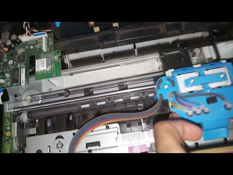REPAIR HP DESKJET GT 5820 and 5821 ALL IN ONE PRINTER