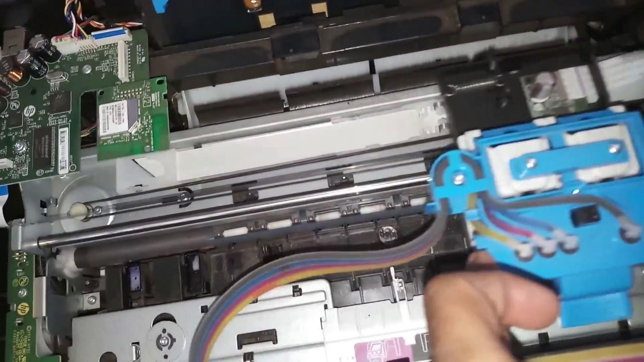 REPAIR HP DESKJET GT 5820 and 5821 ALL IN ONE PRINTER