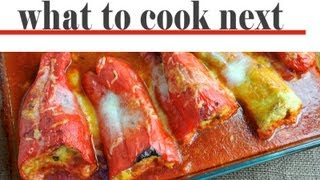Recipe For Stuffed Peppers With Pork And Rice In Tomato Sauce