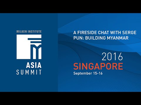 A Fireside Chat with Serge Pun Building Myanmar