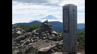 夫婦で登る日本百名山 201808聖岳・上河内岳