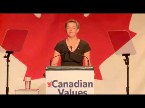 Kellie Leitch Campaign Start Speech - This is why Canadians MUST support her