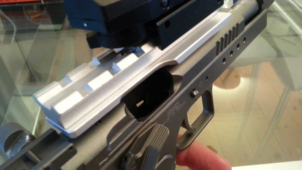 250a32d0a61d Tanfoglio Gold Custom from CyberGun - Tabletop Review - 4.5mm Co2 Semi-Auto  Pistol - YouTube