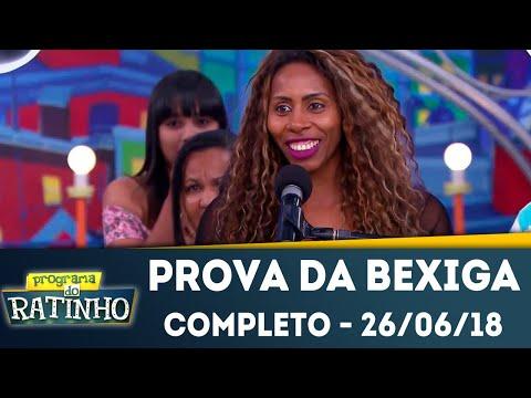 Prova da Bexiga - Completo | Programa do Ratinho (26/06/2018)