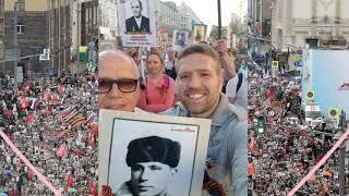 76 лет тому назад ушел с Красной площади на войну и вернулся только с БЕССМЕРТНЫМ ПОЛКОМ