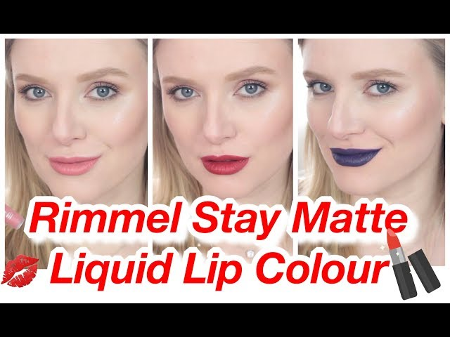??????? ?????? RIMMEL STAY MATTE LIQUID LIP COLOUR ?????????-????? ???? 18 ????????