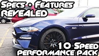 18 Mustang GT Performance Pack 10 Speed // First Look & Overview