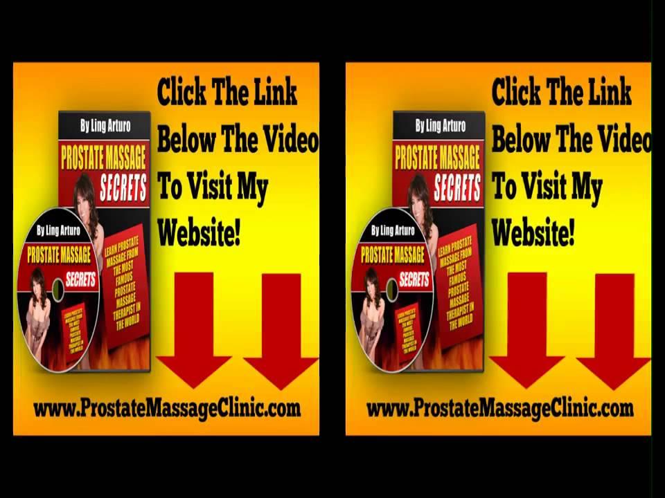 Self Prostate Massage Therapy Videos
