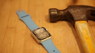 Apple Watch Hammer & Knife Scratch Test