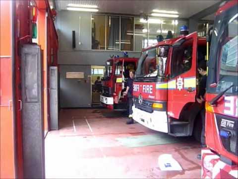 London Fire Brigade - A211 A212 Paddington Pump Ladder And Pump Turnout