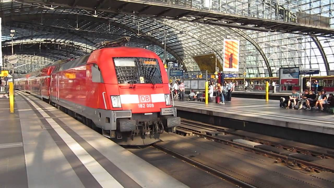 how to get from frankfurt to berlin by train