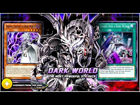 NEW DARK WORLD GRAPHA - THE MOST EXPENSIVE DECK IN DUEL LINKS W/ INSANE OTK COMBO!