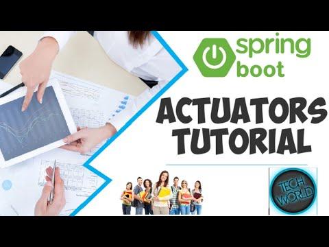 Spring boot actuators tutorial and demo