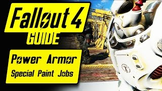 Fallout 4 Power Armor Special Unique Paint Jobs Guide Overview