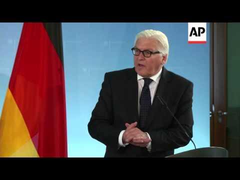Steinmeier and Ashton comment on Ukraine, OSCE observers