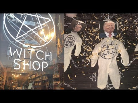 WITCHES GO THROUGH WITH HEX ON TRUMP AND KAVANAUGH USE VOODOO DOLLS AND MAGIC...