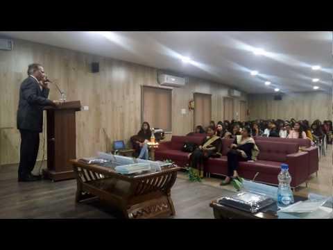 20170215 Prof J D Agarwal Address on Cash to Cashless at Delhi Univ Daulat Ram College 15Feb17