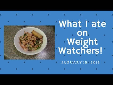 A full day of eating on WW (Weight Watchers) January 14, 2019