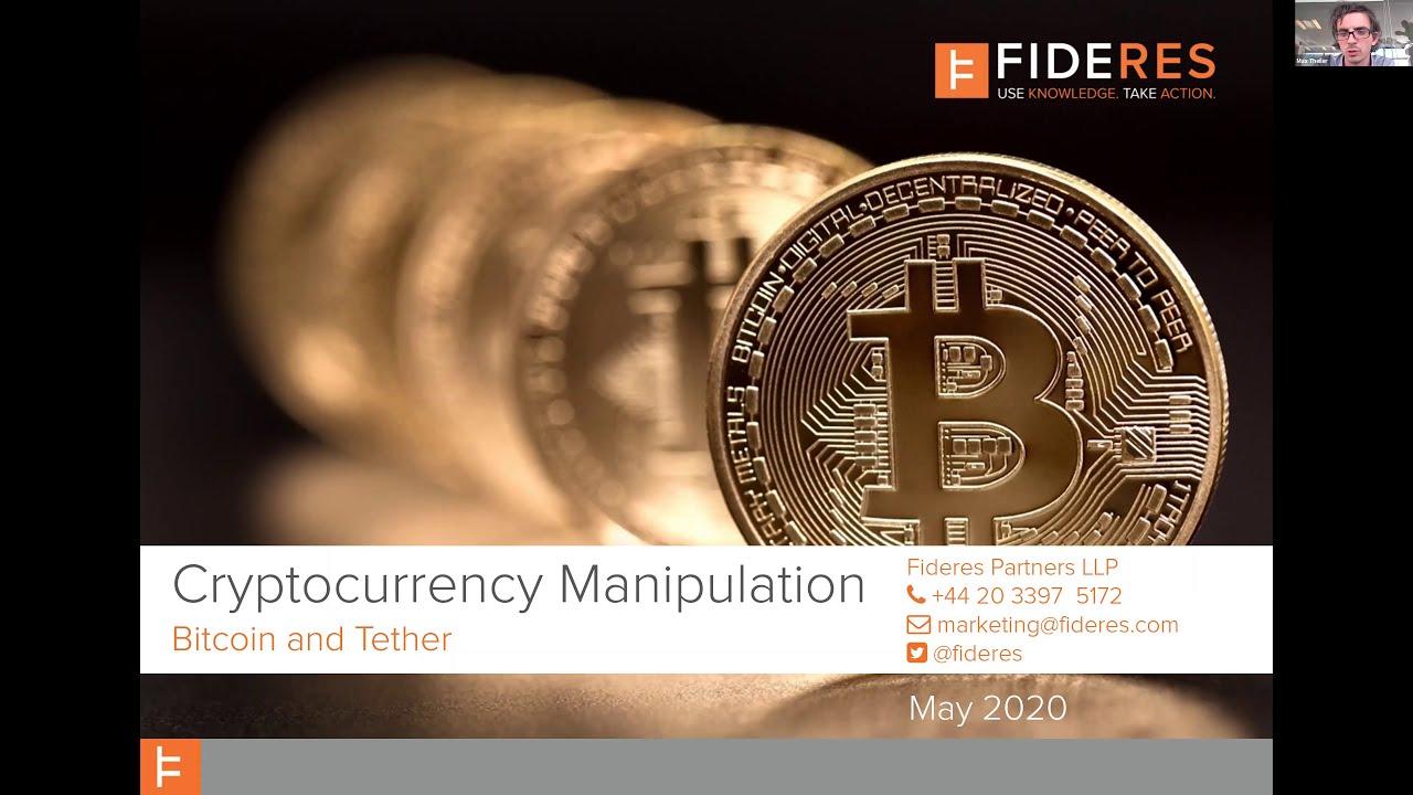 tether bitcoin manipolation