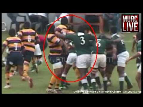 Royal College Vs. Isipathana 1st XV Rugby Match Foul Plays