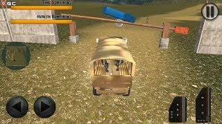 Off Road Military Truck Checkpost - 4x4 SUV Car  - Android Gameplay FHD