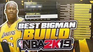 NBA 2K19 BEST BIGMAN BUILD AFTER PATCH! *NEW* BEST BIGMAN BUILD IN NBA 2K19!