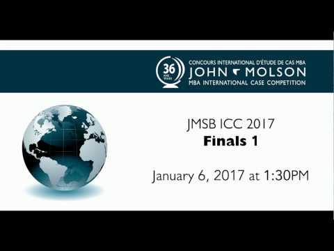 John Molson MBA International Case Competition 2017 - Finals 1-2-3