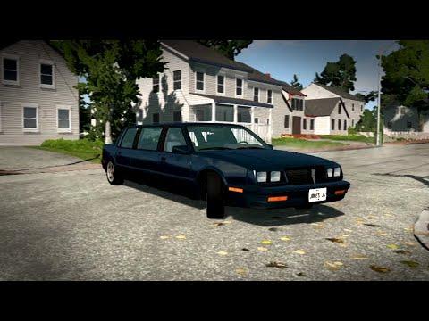 Drift De Limousine V8 SuperCharger - BeamNG.Drive