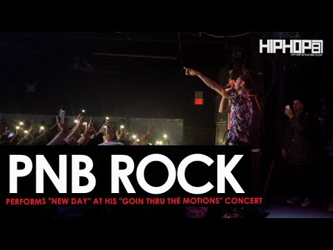 "PnB Rock Performs ""New Day"" & More at His ""GTTM: Goin Thru The Motions"" Concert"