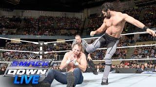 بالفيديو- سيث رولينز يضيّع فرصته الثانية في اقتناص بطولة WWE من دين أمبروز