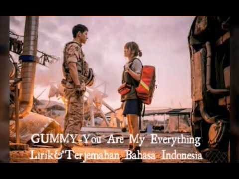 Gummy  You Are My Everything   Lirik dan Terjemahan Bahasa Indonesia