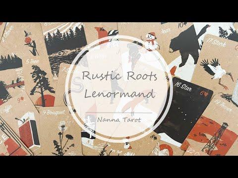 開箱  懷舊鄉村雷諾曼 • Rustic Roots Lenormand // Nanna Tarot
