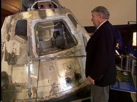 BD-0084 Wally Schirra in SDASM's Space Flight Gallery