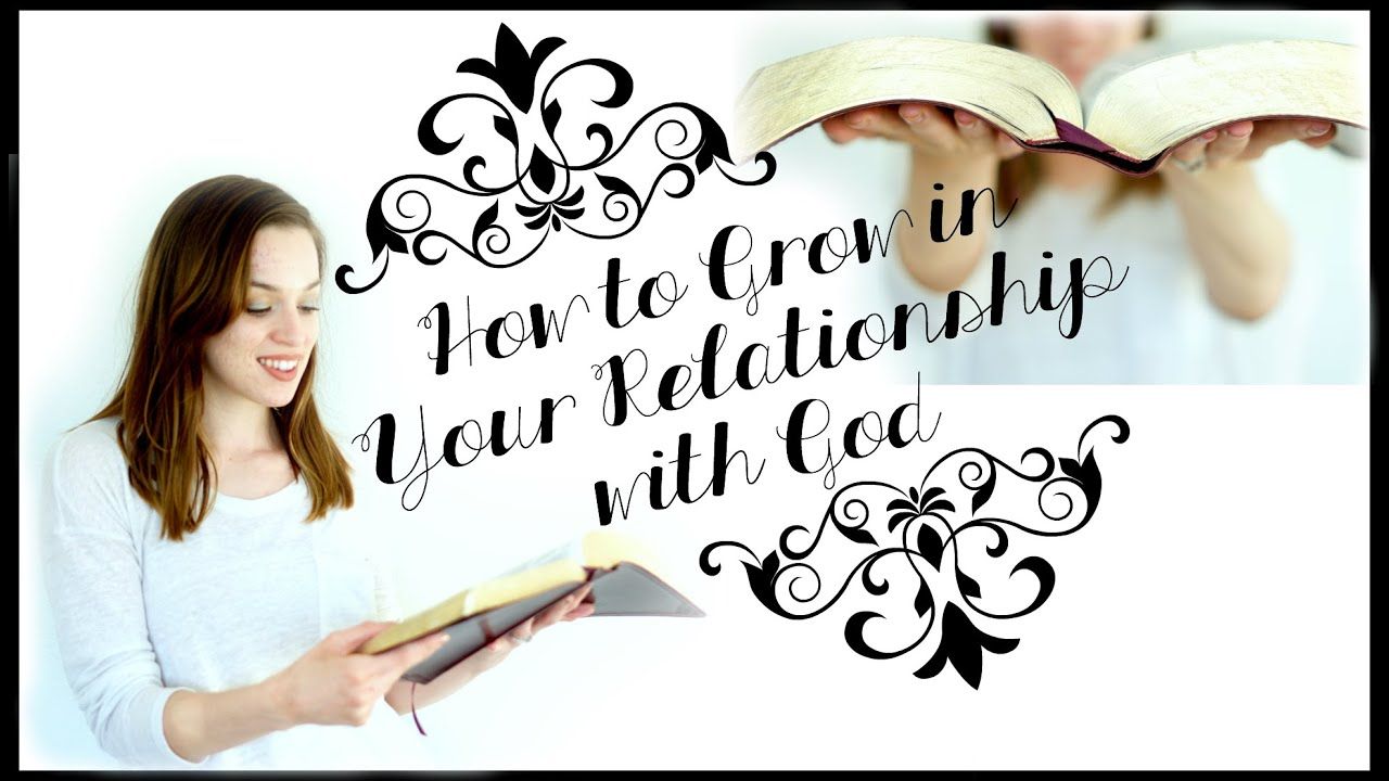 developing a relationship with jesus