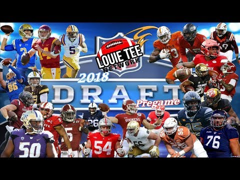 Louie Tee Network 2018 NFL DRAFT PARTY LIVE! Day 2 React & Analysis....🏈🏈🏈  #LouieTeeLive