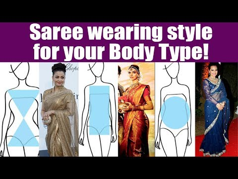 Saree wearing style for your Body Type; Check Out | Boldsky