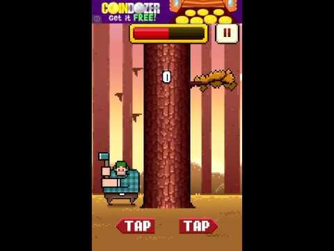 Timberman Gameplay! (Rage-ish Game) |