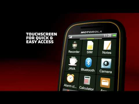 Motorola Wilder téléphone tactile pas cher
