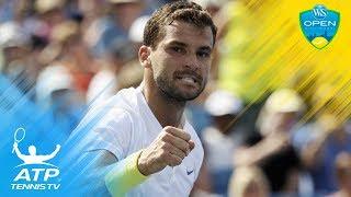 Grigor Dimitrov's brilliant backhands vs John Isner | Cincinnati 2017 Semi-Final